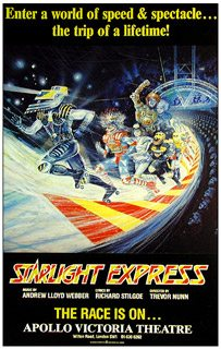 Starlight Express opens at the Apollo Victoria