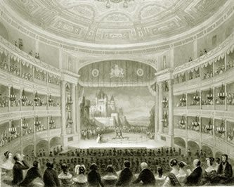 Theatre Royal Drury Lane was built