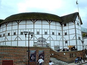 Shakespeare's Globe opened on the South Bank