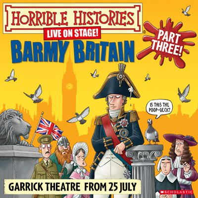 Horrible Histories: Barmy Britain Part 3 opens