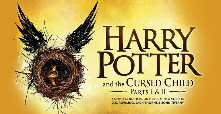 Harry Potter and the Cursed Child opens