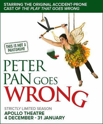 Peter Pan Goes Wrong opens