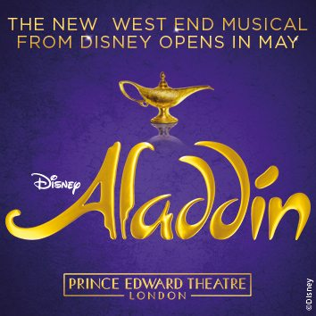 Aladdin transfers from Broadway to the West End
