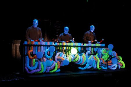 Blue Man Group bring the party to New London Theatre