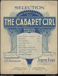 Jerome Kern's The Cabaret Girl opens