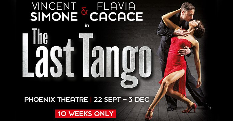 Vincent Simone and Flavia Cacace perform in their final London show