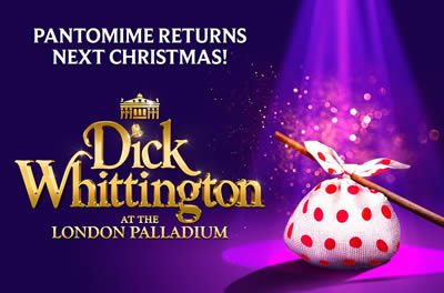 Dick Whittington comes to the London Palladium