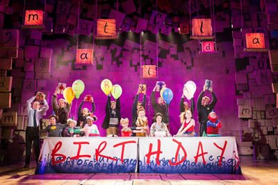 Matilda celebrates 5th birthday on West End