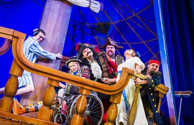 Peter Pan Goes Wrong broadcast on BBC on New Year's Eve
