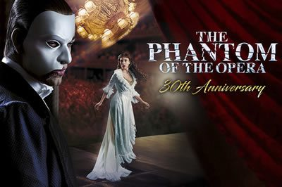 Phantom celebrates 30 years haunting the West End