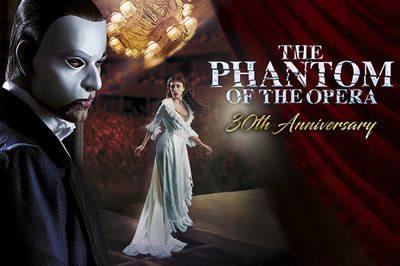 Phantom celebrates 30 years haunting the West End