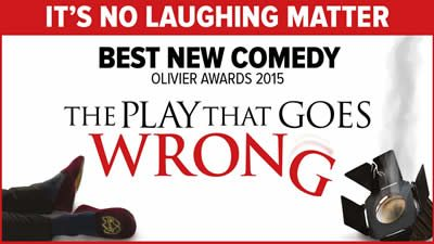 The Play That Goes Wrong travels to Broadway