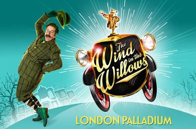 The Wind in the Willows blows into the London Palladium