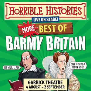 Horrible Histories returns to the West End