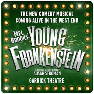 Young Frankenstein comes to life at the Garrick