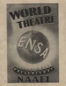 ENSA appropriates the theatre during the war