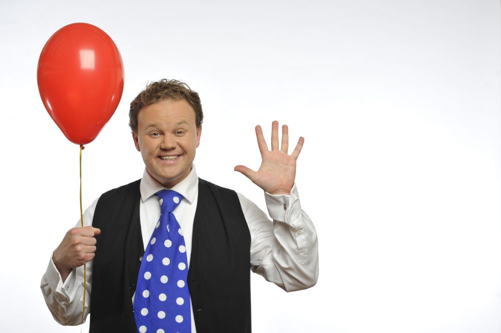 Justin Fletcher comes to Theatre Royal Drury Lane