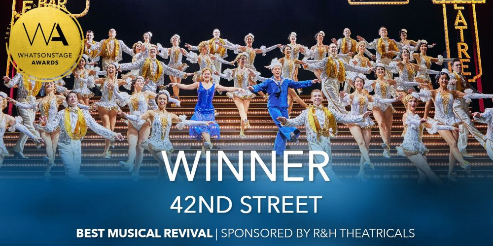 42nd Street smashes the WhatsOnStage Awards