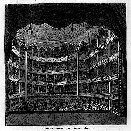 Theatre Royal Drury Lane demolished