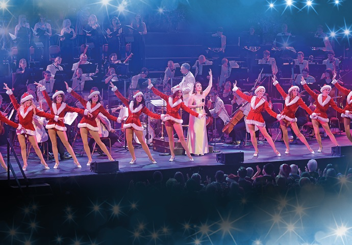 Christmas Spectacular at Drury Lane for one night only