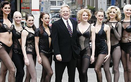 Jerry Springer debuts in Chicago