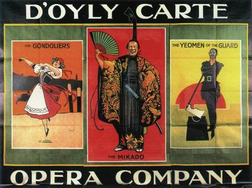 The D'Oyly Carte Opera Company presents their closing gala
