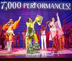 Mamma Mia! celebrates 7000th performance