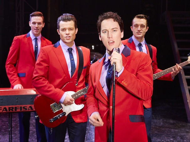 Jersey Boys cast change