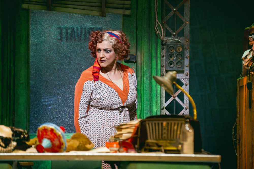 Meera Syal plays Miss Hannigan