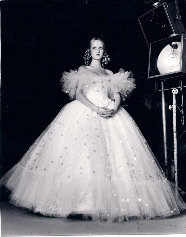 Twiggy plays Cinderella