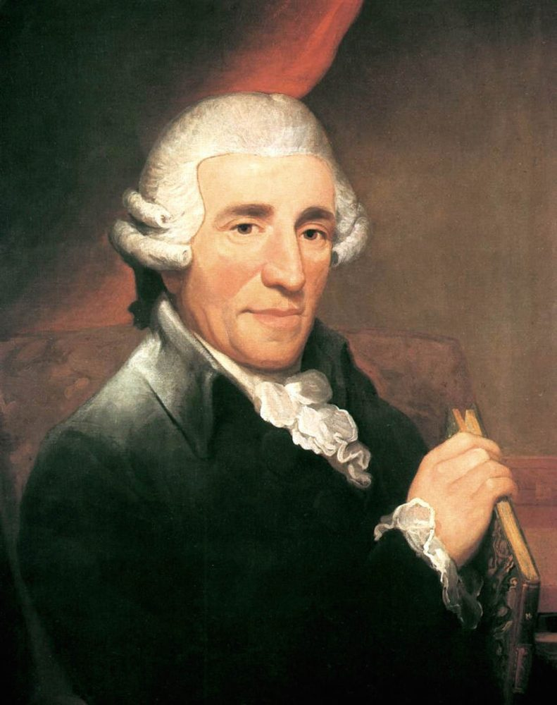 Haydn conducts his own works