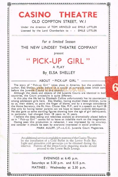 Pick-Up Girl