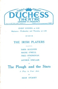 The Plough and the Stars opens