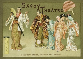 The theatre presents a season of Savoy operas