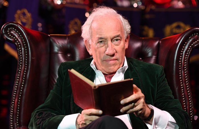 Simon Callow directs HRH
