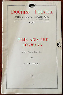 Time and the Conways runs at the Duchess