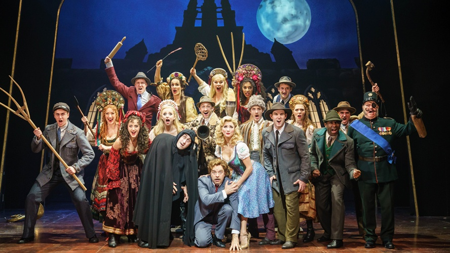 Young Frankenstein extends