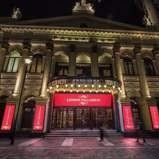 The London Palladium is listed