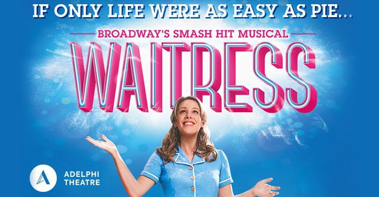 Waitress at the Adelphi Theatre poster