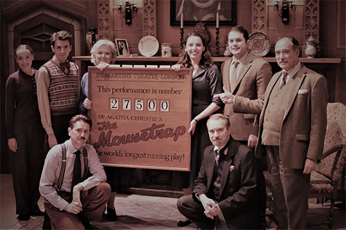 The Mousetrap passes 27,500 performances