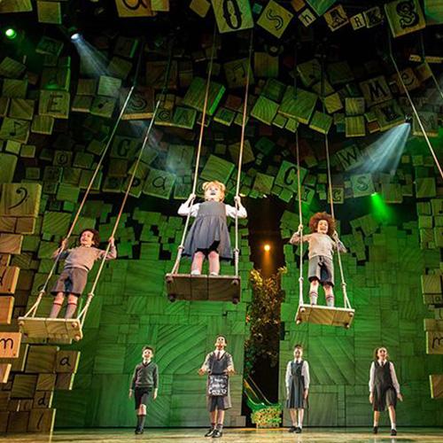 Matilda reopens at the Cambridge Theatre
